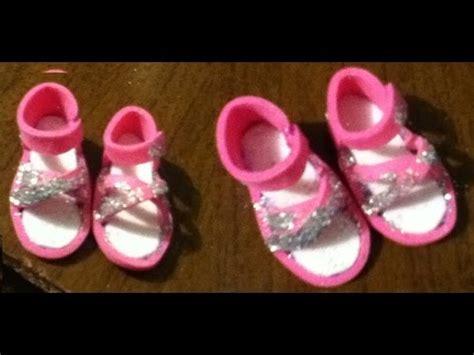 como aser sandalia para bebes con goma eva tutorial como hacer unas sandalias o zapatos para tus