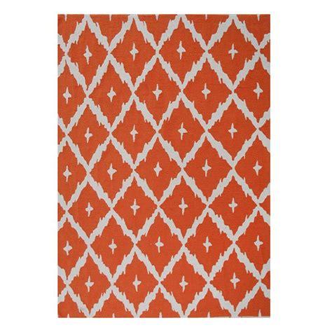 Bright Orange Area Rug Nance Carpet And Rug Ourspace Bright Orange 5 Ft X 7 Ft Area Rug Os57oh The Home Depot