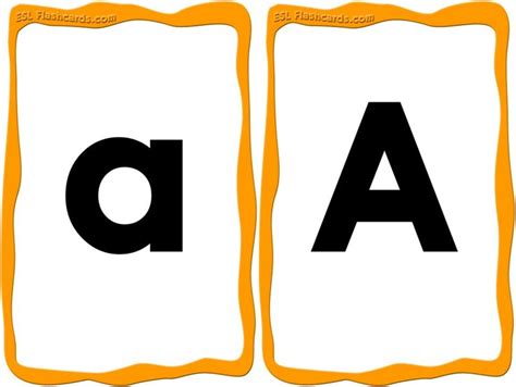 medium printable alphabet letters a great set of upper and lowercase alphabet cards from a