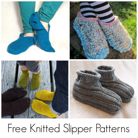 the slipper and the free 10 free knitted slipper patterns