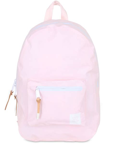 light pink herschel backpack herschel supply co settlement mid tarpaulin