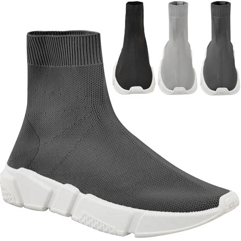 sock boots womens ebay new womens sneakers trainers sock runners comfy speed knit shoes size ebay