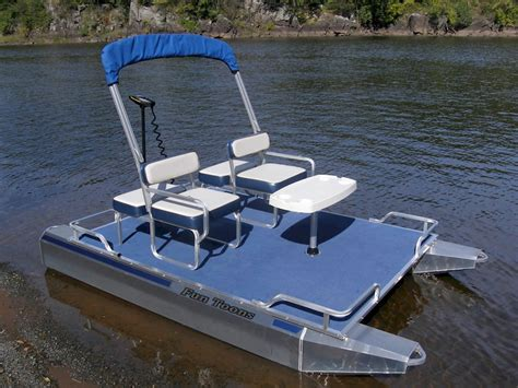 mini pontoon boats electric electric mini pontoon boat