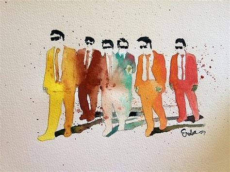 reservoir dogs colors reservoir dogs in color painting by emalia hinden