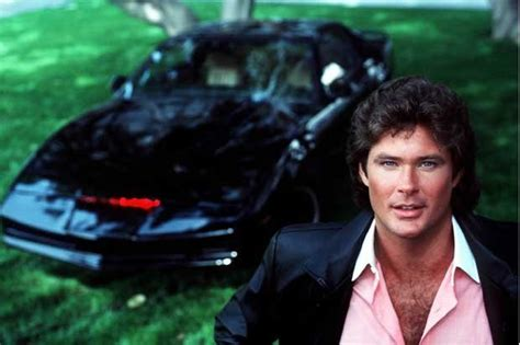 Hasselhoff Admits Rider Car Was 2 by Real Rider Are Driverless Cars The Future