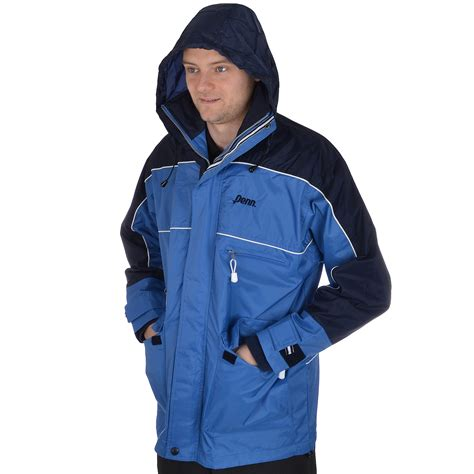 Penn Mens Full Zip Heavy Duty Rugged Workwear Outdoor Rugged Outdoor Jackets