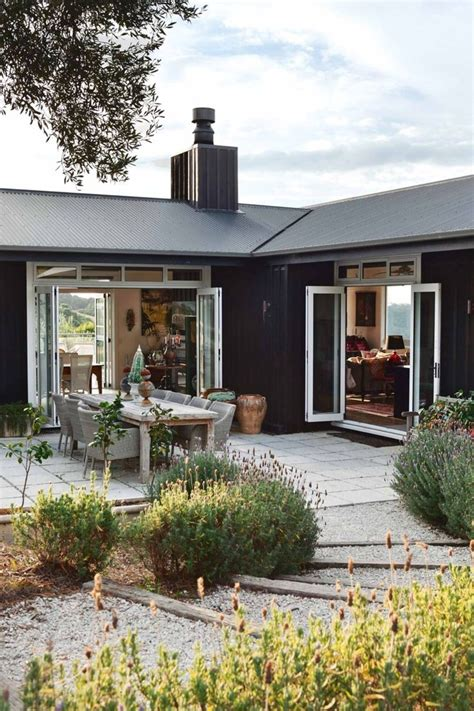 indoor outdoor house 30 black houses that make us want to go to the dark side