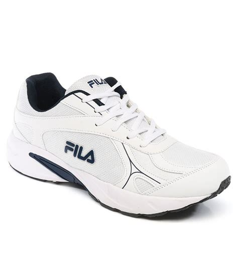 white sports shoes fila white sprint sports shoes buy fila white sprint