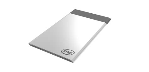 what is a card intel s compute card is a pc that can fit in your wallet