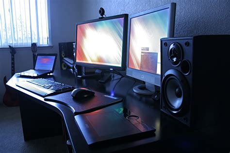 Two Computer Desk Setup 1000 Images About Future Computer Desk Ideas On Pinterest Custom Computer Desk The General