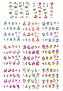 printable nail art stickers pin free printable nail decals on pinterest
