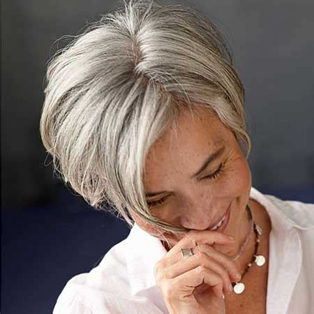 stylish eve gray hair 20 stylish hairstyles for women over 50 short haircuts