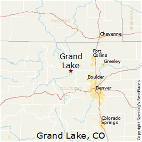 grand in colorado map best places to live in grand lake colorado