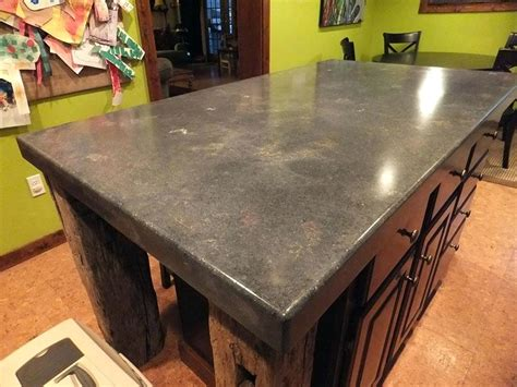 diy concrete countertops look like wood stained concrete countertops how to pour and install