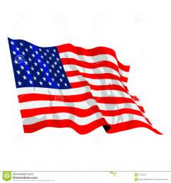 Synthetic Duvet American Flag Illustration Stock Images Image 2314024