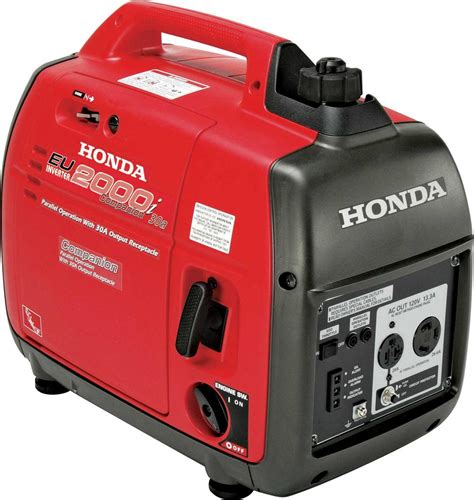 Honda Small Home Generators Honda Eu2000ia Companion Portable Generator Carb