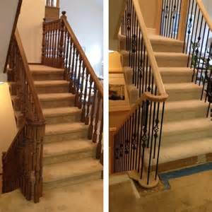 Stairs And Spindles by Before And After Traditional Staircase Other Metro