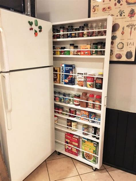 Roll Away Pantry by Hide Away Pantry Kitchen Storage Hometalk