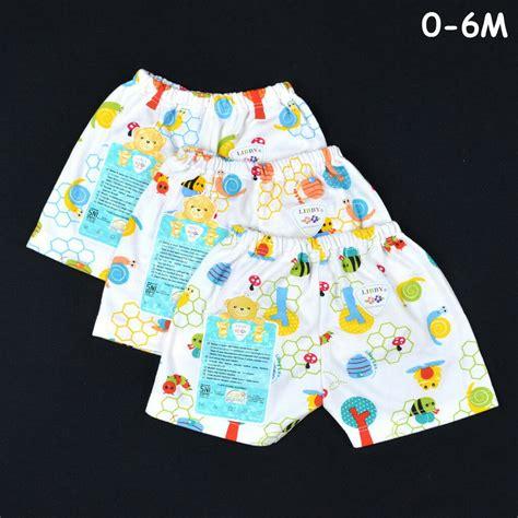 Libby Celana Pendek Motif Newborn grosir pakaian libby celana pendek motif 0 18 bulan yuma