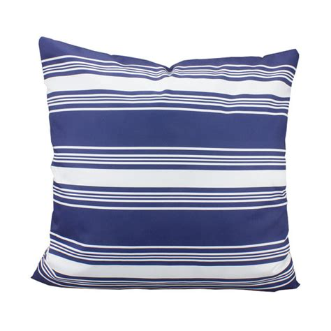 Navy And White Striped Pillow by Navy And White Striped Pillows Cover Nautical Stripes Pillow