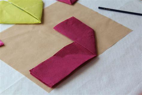 decorar con servilletas como doblar servilletas de papel manualidades con servilletas