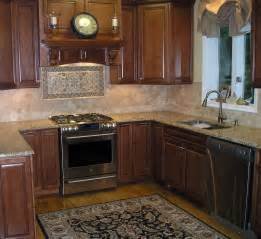kitchen with backsplash stoneimpressions elegante kitchen backsplash