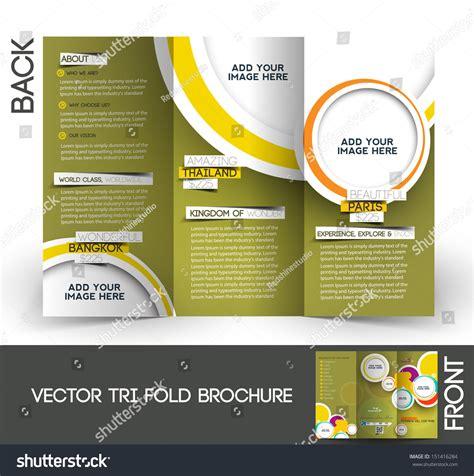 tri fold travel brochure template 25 travel brochure template psd