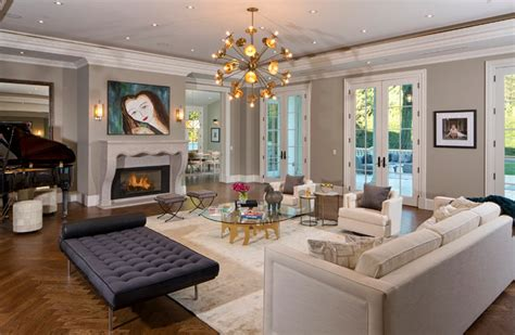 The Living Room Beverly by Beverly Mansion Alta Transitional Living Room