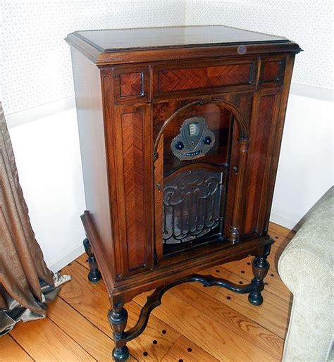 antique radio cabinet for sale greberadio com 187 grebe radio phonograph for sale