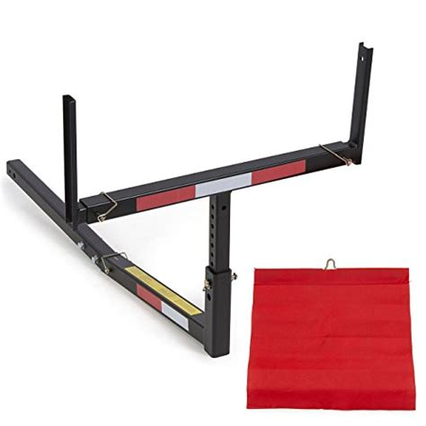 truck bed extender hitch pick up truck bed hitch extender extension rack canoe boat