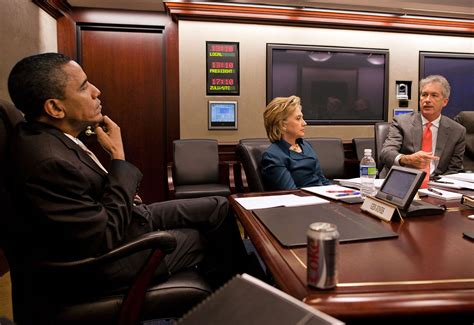 obama situation room file barack obama clinton and bill burns in the white house situation room jpg