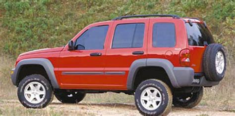 jeep liberty kits 2002 2007 jeep liberty lift kit 2 quot kits by tuff country