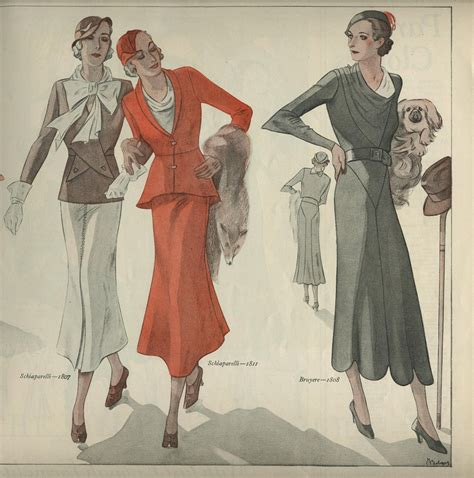 womens fashion mid thurtys 1932 french patterns women s fashion genibee flickr