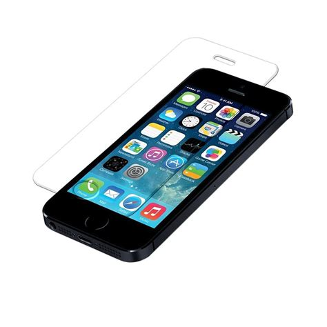 Tempered Glass Hitam jual apple iphone 5 16 gb smartphone hitam free tempered glass harga kualitas