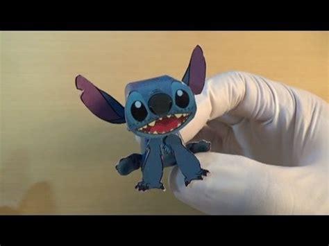 Stitch Papercraft - stitch papercraft グルトのペーパークラフト スティッチ