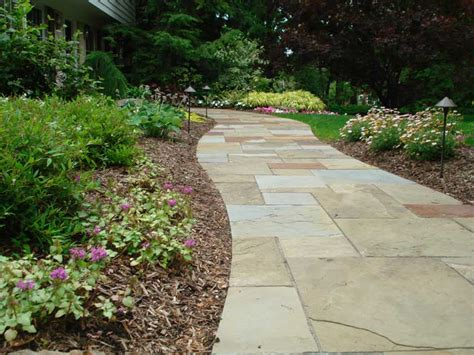 pathway designs custom stone walkway projects exscape designs