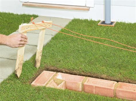 How To Build A Garden Wall by How To Build A Garden Wall Of Or Brick On Your Land Plot