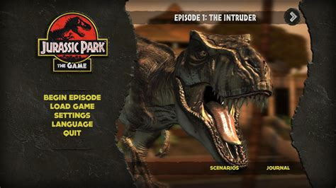 download game jurassic park the game pc full version jurassic park the game full game free pc download play