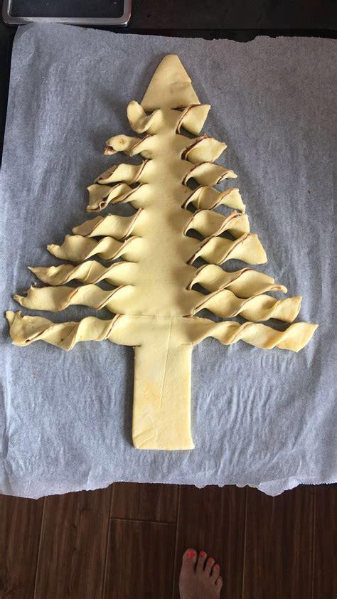 chocolate pull apart christmas tree recipe nutella tree pull apart happy happy child