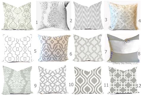 grey and white cover grey pillow covers grey and white throw pillows decorative