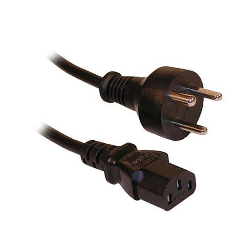 Kabel Power Cpu Monitor High Quality 3 Meter 220 volt edb kabel med skr 229 stik og jord