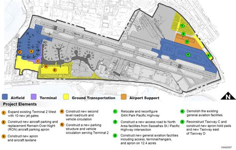 house plan new development plans for airport project san diego international airport gt airport projects gt 2008