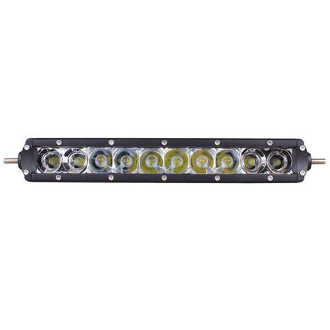 50 Single Row Led Light Bar Slimline Single Row Led Light Bar 13 Inch 50 Watt Combo Tuff Led Lights