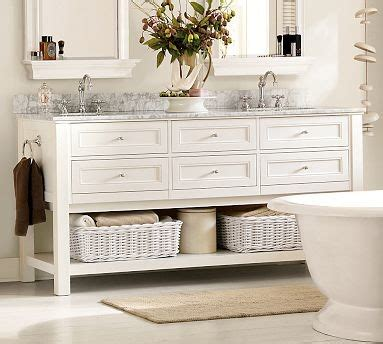 classic sink console white with satin nickel