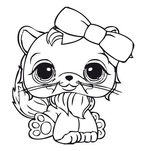 coloring pages for lps littlest pet shop para colorir 10
