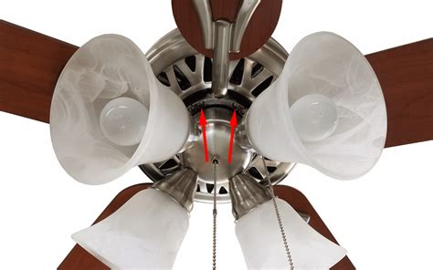 Tighten Ceiling Fan how to remove the wobble from that ceiling fan using an