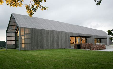 Simple Barn Homes recycled belgian barn house by architect huys