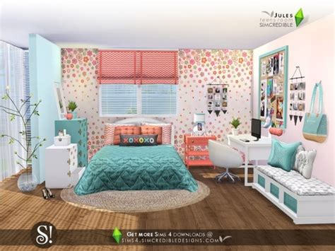 Toddler Bedroom Sets For Girls the sims resource jules bedroom by simcredible sims 4