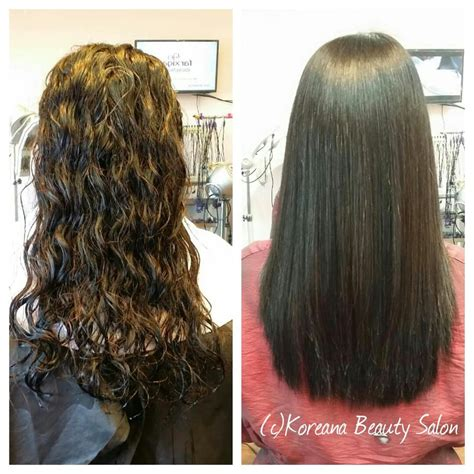 permanent for long hair near 14467 before after of a japanese straight perm yelp
