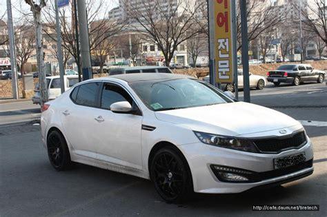 Black And White Kia Optima Kia Optima K5 White Hre P40 Black 4 Rides Styling